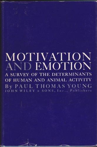 9780471979449: Motivation and Emotion