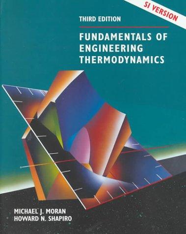 9780471979609: Fundamentals of Engineering Thermodynamics