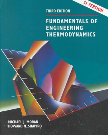 9780471979609: Fundamentals of Engineering Thermodynamics, SI Version