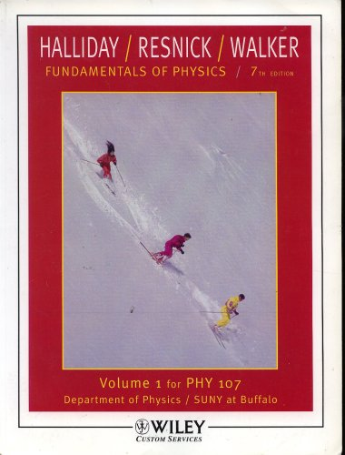 9780471980087: Fundamentals of Physics for Phy 107 (VOLUME 1)