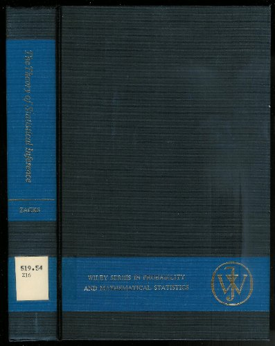 9780471981039: Theory of Statistical Inference (Probability & Mathematical Statistics S.)