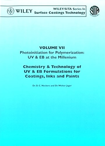 9780471982357: Photoinitiation for Polymerization: UV & EB at the Millennium, Volume VII, Chemistry & Technology for UV & EB Formulation for Coatings, Inks & Paints