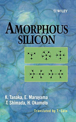 Amorphous Silicon (Hardback): Kazunobu Tanaka, Eiichi