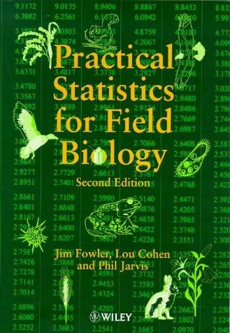 9780471982951: Practical Statistics for Field Biology