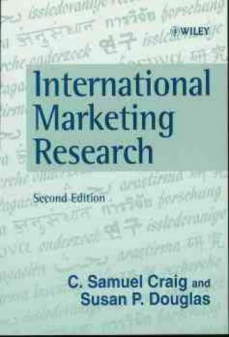 9780471983224: International Marketing Research