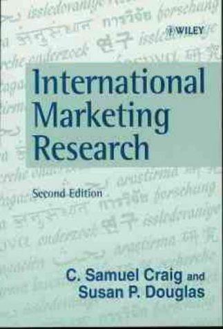 9780471983224: International Marketing Research