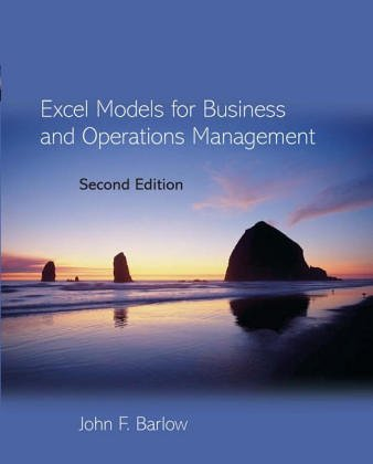 9780471983507: Excel Models for Business and Operations Management
