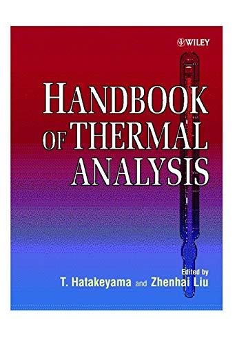 Handbook of Thermal Analysis (Hardback): T. Hatakeyama, Lui Zhenhai, Lui Zhenhal