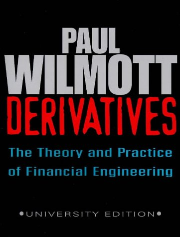 9780471983668: Derivatives: The Theory and Practice of Financial Engineering (Frontiers in Finance Series)