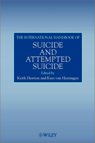 9780471983675: The International Handbook of Suicide and Attempted Suicide