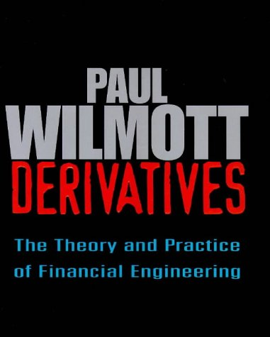 9780471983897: Derivatives: The Theory and Practice of Financial Engineering (Frontiers in Finance Series)