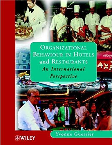 Organizational Behaviour in Hotels: An International Perspective: Guerrier, Y.