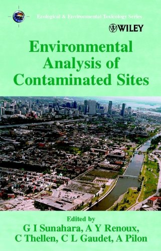 9780471986690: Environmental Analysis of Contaminated Sites (Ecological & Environmental Toxicology Series)
