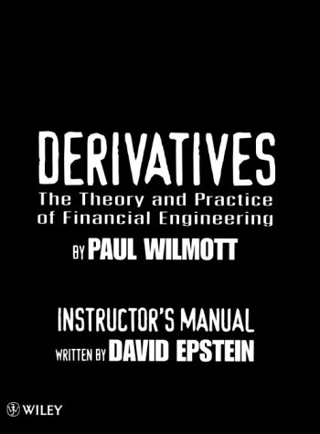 9780471986706: Derivatives: The Theory and Practice of Financial Engineering