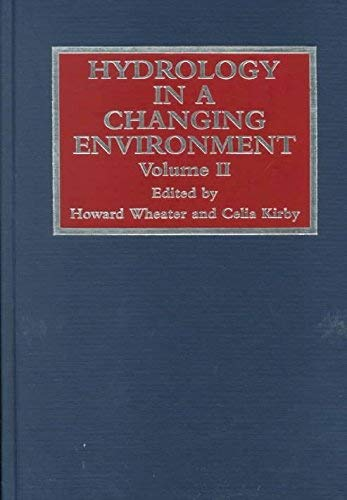 9780471986850: Hydrology in a Changing Environment (Volume II)
