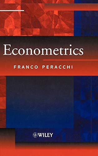 9780471987642: Econometrics