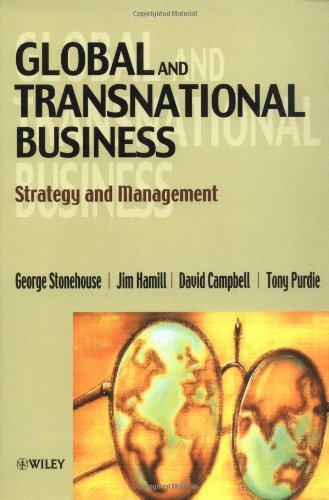 9780471988199: Global and Transnational Business: Strategy and Management