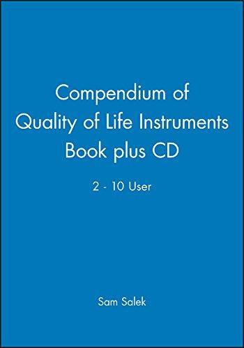 9780471988410: Compendium of Quality of Life Instruments Book plus CD 2 - 10 User
