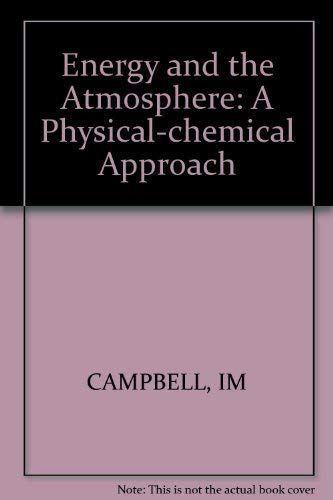 9780471994817: Energy and the Atmosphere