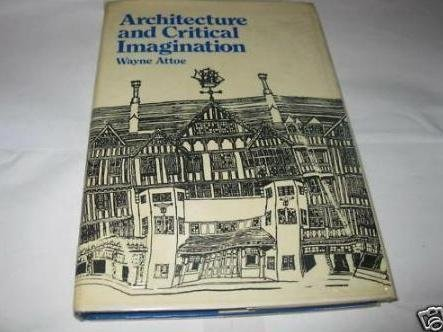 9780471995746: Architecture and Critical Imagination