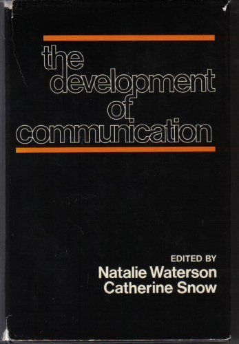 9780471996286: Development of Communication