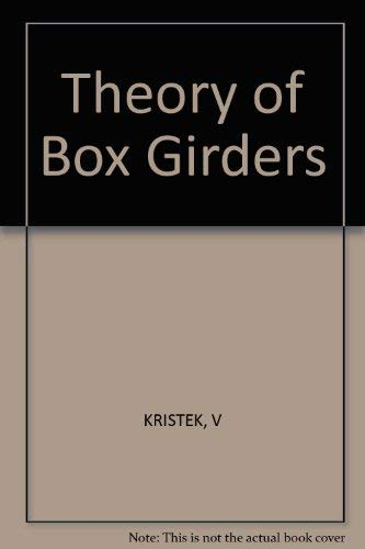 9780471996781: Theory of Box Girders