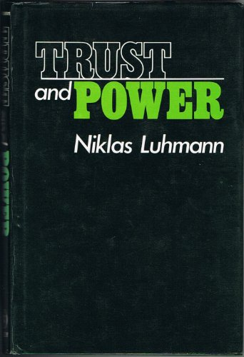 9780471997580: Trust and Power
