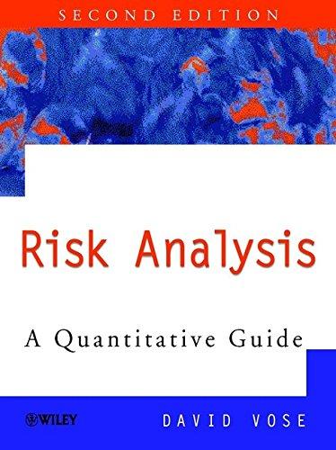 9780471997658: Risk Analysis: A Quantitative Guide