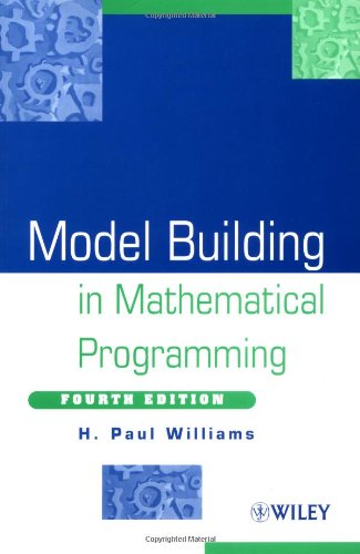 9780471997887: Model Building in Mathematical Programming, 4th Edition