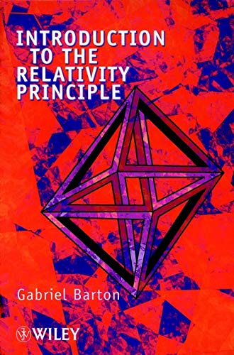 9780471998952: Introduction to the Relativity Principle