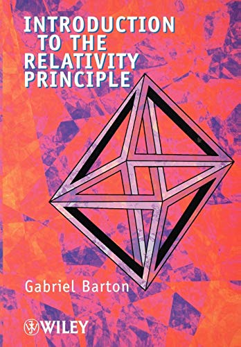 9780471998969: Introduction to the Relativity Principle