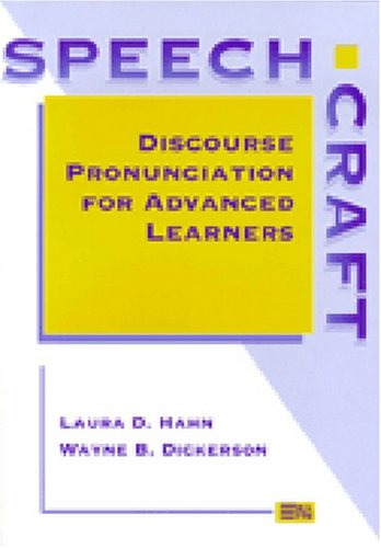 9780472002955: Speechcraft: Discourse Pronunciation for Advanced Learners (Michigan Series in English for Academic & Professional Purposes)