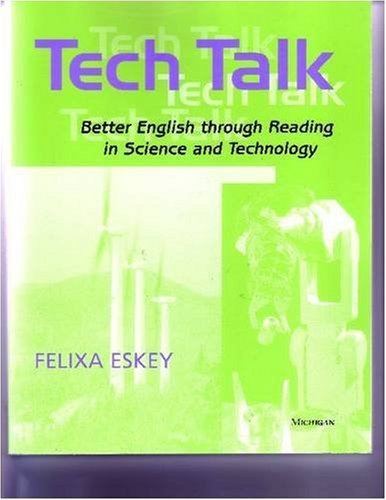 9780472030774: Tech Talk: Better English Through Reading in Science and Technology