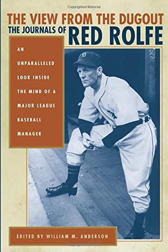 9780472031481: The View from the Dugout: The Journals of Red Rolfe