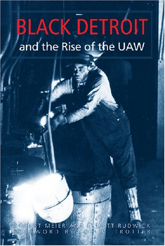9780472032198: Black Detroit and the Rise of the UAW