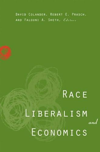9780472032242: Race, Liberalism, and Economics