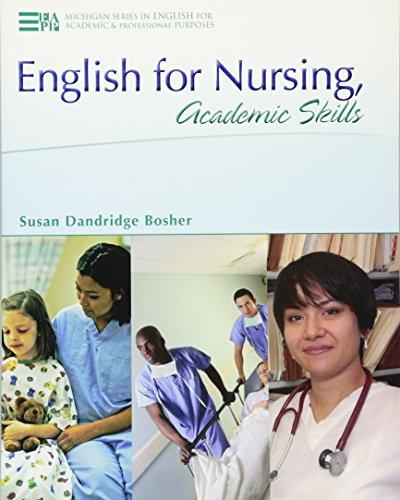 9780472032273: English for Nursing, Academic Skills (Michigan Series In English For Academic & Professional Purposes)