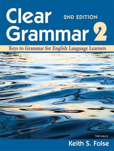 9780472032426: Clear Grammar 2, 2nd Edition: Keys to Grammar for English Language Learners