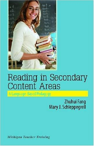 9780472032792: Reading in Secondary Content Areas: A Language-Based Pedagogy (Michigan Teacher Training)