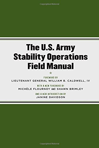 9780472033904: The U.S. Army Stability Operations Field Manual: U.S. Army Field Manual No. 3-07