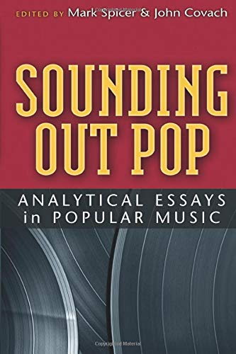 9780472034000: Sounding Out Pop: Analytical Essays in Popular Music (Tracking Pop)