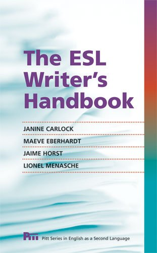 9780472034031: The ESL Writer's Handbook (Pitt Series In English As A Second Language)