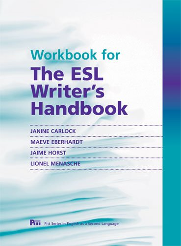 9780472034048: Workbook for The ESL Writer's Handbook (Pitt Series In English As A Second Language)