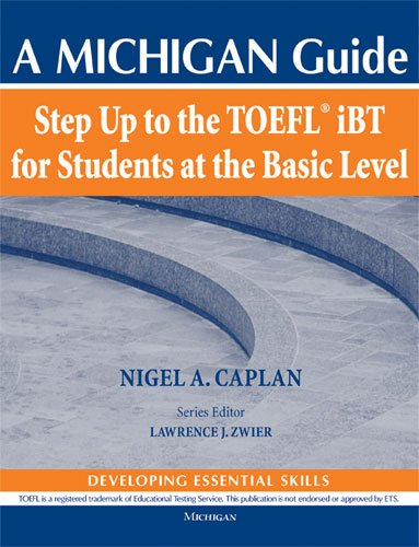 9780472034079: Step Up to the TOEFL(R) iBT for Students at the Basic Level (with Audio CD): A Michigan Guide (Step Up to the Toefl Ibt)