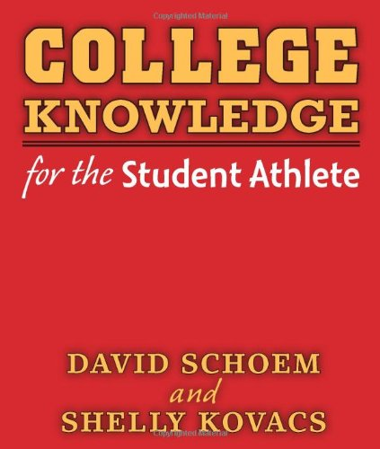 9780472034543: College Knowledge for the Student Athlete