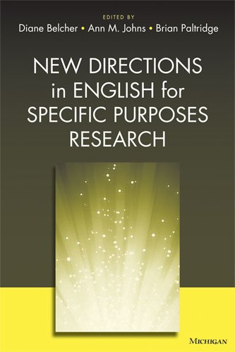 9780472034604: New Directions in English for Specific Purposes Research
