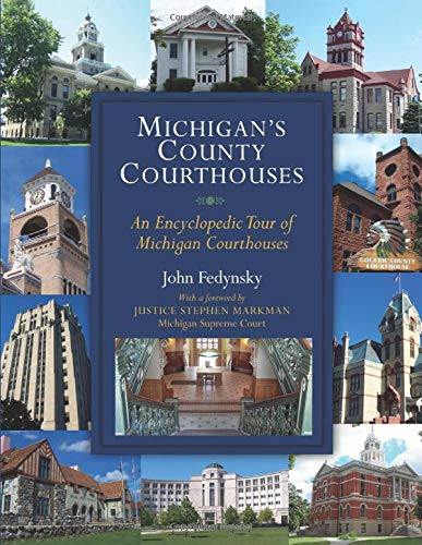 9780472034932: Michigan's County Courthouses