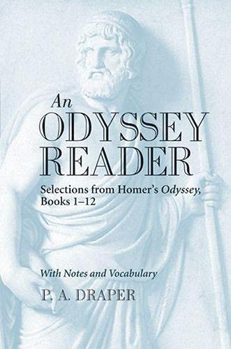 9780472051922: An Odyssey Reader: Selections from Homer's Odyssey, Books 1-12