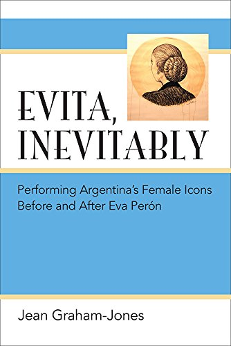 9780472052332: Evita, Inevitably: Performing Argentina's Female Icons Before and After Eva Perón
