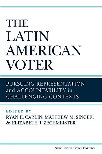 9780472052875: The Latin American Voter: Pursuing Representation and Accountability in Challenging Contexts (New Comparative Politics)